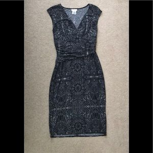 Maggy L black and white dress